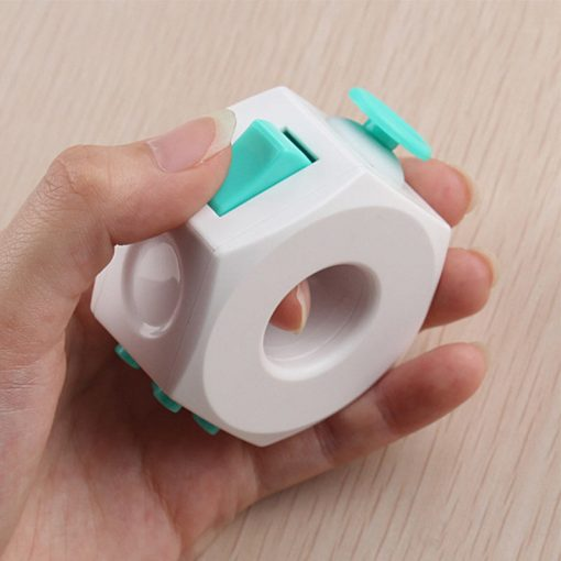 Anti Stress Cube Toy Decompression Toy Press Magic Stress and Anxiety Relief Depression Anti Cube for 3 - Ring Fidget Store