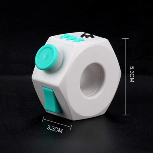 Anti Stress Cube Toy Decompression Toy Press Magic Stress and Anxiety Relief Depression Anti Cube for 4 - Ring Fidget Store