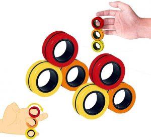 Funny Fidget Spinner Magnetic Bracelet Ring Unzip Toy Magic Ring Props Tools Anti Stress Figet Toys 24.jpg 640x640 24 - Ring Fidget Store