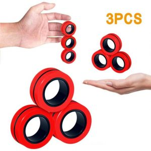 Funny Fidget Spinner Magnetic Bracelet Ring Unzip Toy Magic Ring Props Tools Anti Stress Figet Toys 3.jpg 640x640 3 - Ring Fidget Store