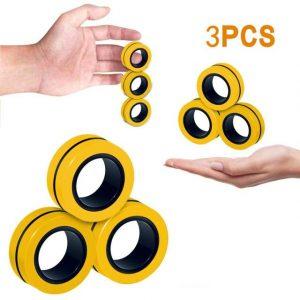 Funny Fidget Spinner Magnetic Bracelet Ring Unzip Toy Magic Ring Props Tools Anti Stress Figet Toys 6.jpg 640x640 6 - Ring Fidget Store